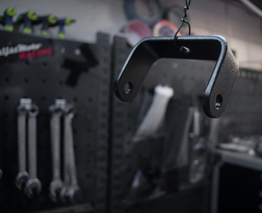 Fabricated steel bracket